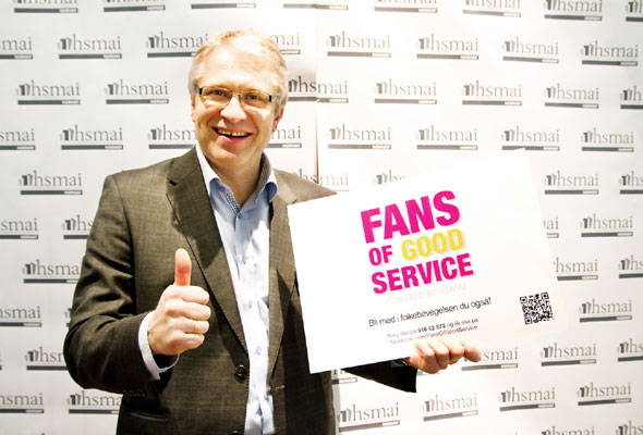 Ståle Stokke. Fans of good service