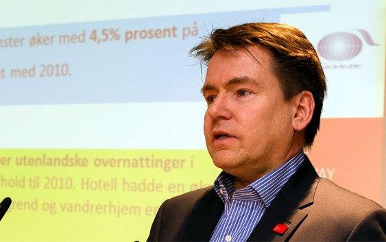 Forum for Reiseliv-direktør Per-Arne Tuftin. Fotograf: Christian T. Jørgensen / EUP-Berlin.com