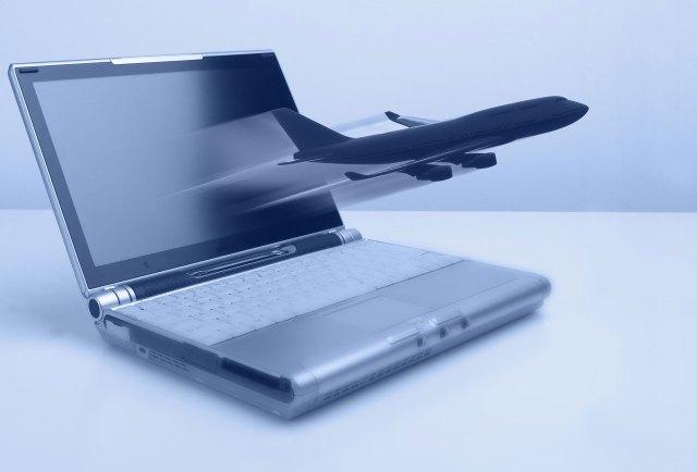 Laptop med fly