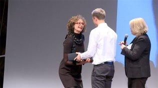 Anne Grethe Solberg takkes for et inspirerende foredrag