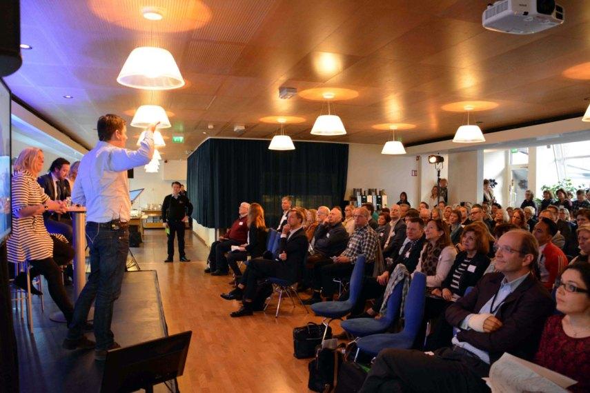 Fra NHO Reiselivs frokostmøte om Drømmeløftet Reiseliv i Oslo fredag 13. mars 2015. Foto fra NHO Reiseliv