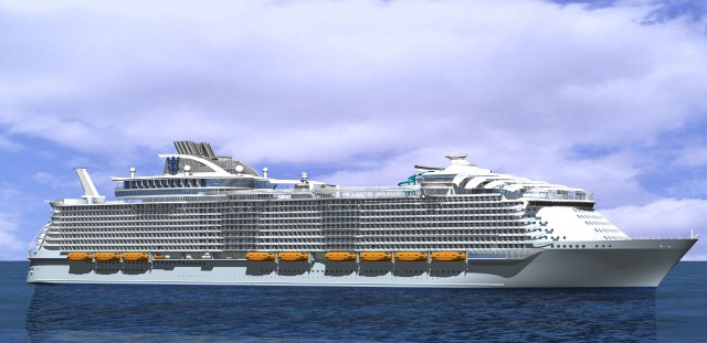 """""""Harmony of the Seas"""". Foto fra RCCL"""