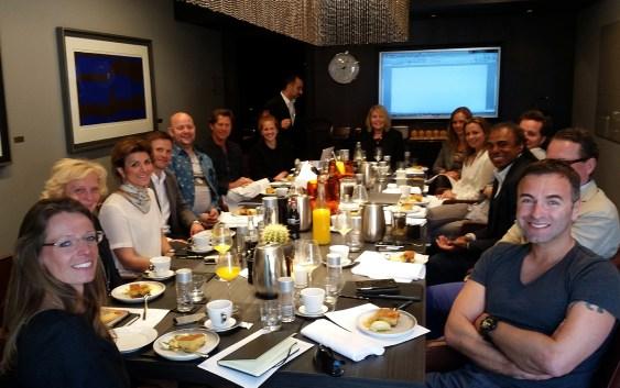 Første møte med HSMAI Advisory Board Event Marketing, i Oslo tirsdag 21. april 2015.