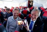 Norwegian først i Europa med direktesendt TV i lufta