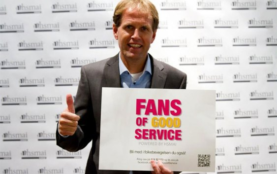 Leiv Roda, direktør ved Best Western Karl Johan – og fan of good service.