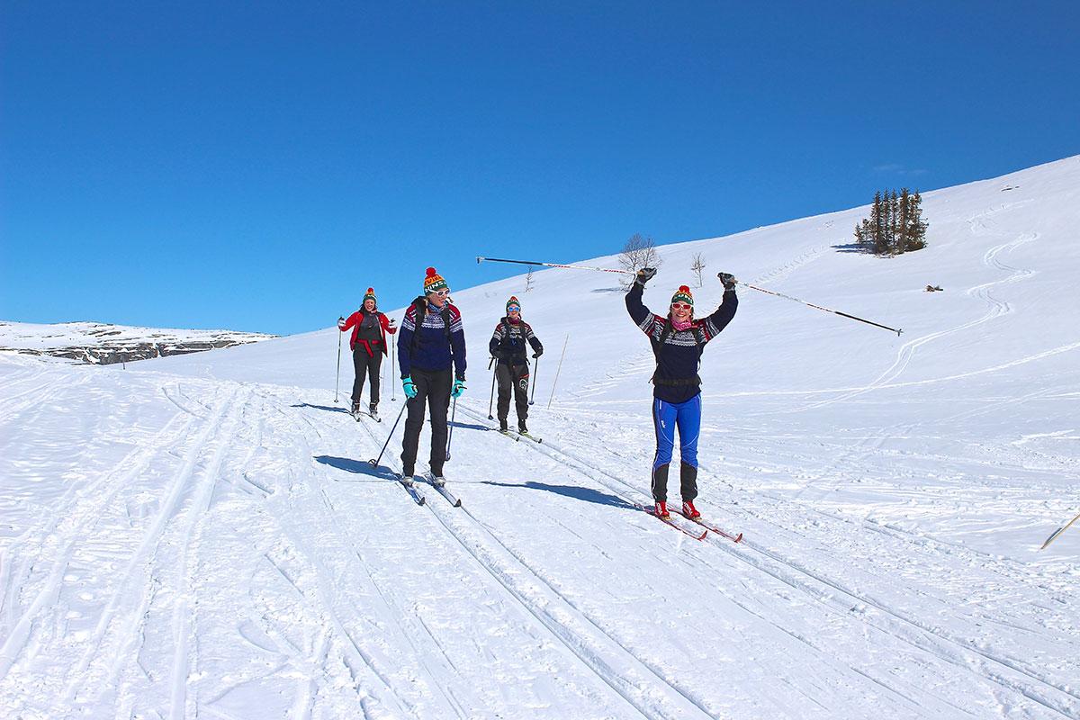 Skal lære kinesere å stå på ski