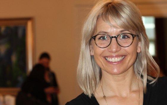 Den kjente svenske TV-kokken Tina Nordström. Foto fra Best Western Hotels.
