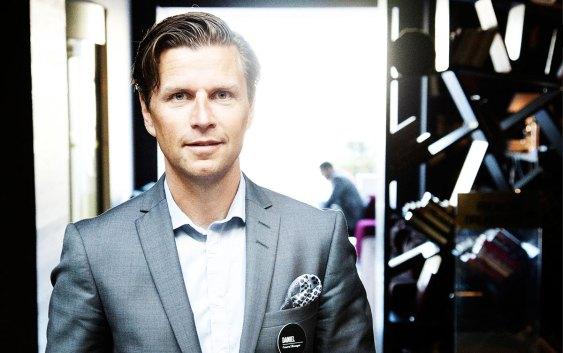 Daniel Stenbäck, direktør for Business Development i hotellkonsernet Nordic Choice Hotels. Foto fra Nordic Choice Hotels.