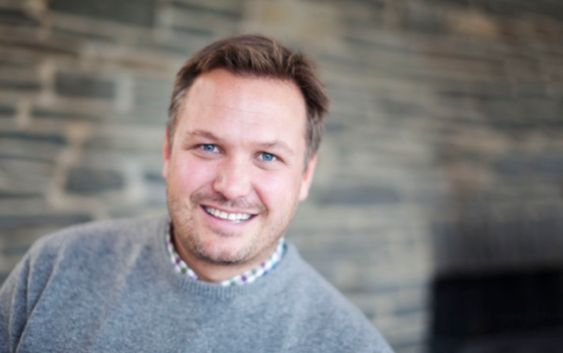 Mikael Forselius, direktør ved Britannia Hotel i Trondheim. Foto fra Reitangruppen.