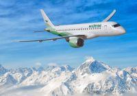 Widerøe offentliggjør første ruter med verdens første E190-E2 jetfly