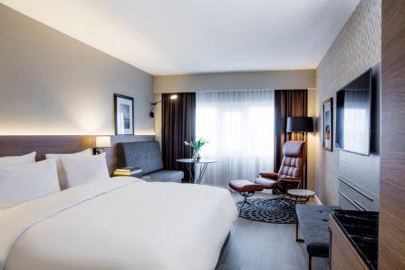 De første nyrenoverte rommene hos Radisson Blu Plaza Hotel i Oslo er allerede ferdige. Fotograf: Rickard L. Eriksson.
