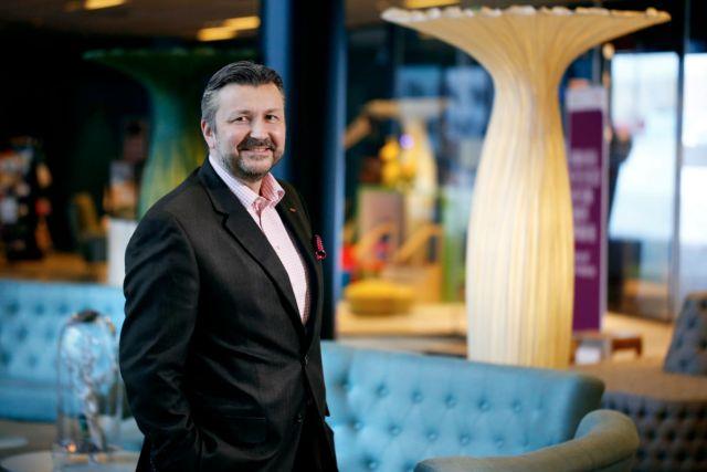 Svein Arild Sten-Mevold, administrerende direktør i Scandic Norge. Foto fra Scandic Hotels.