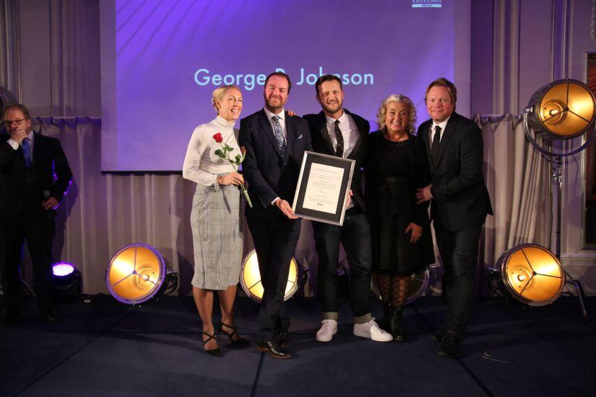 Årets nykommer er George P. Johnson. Fotograf: Camilla Bergan.