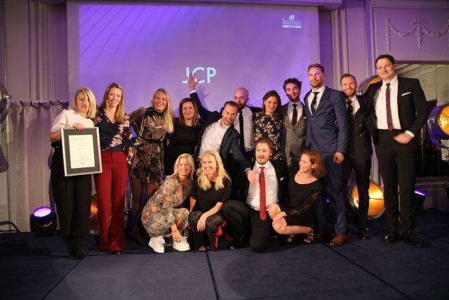 JCP stakk av med prisen som Beste eventbyrå. Fotograf: Camilla Bergan.