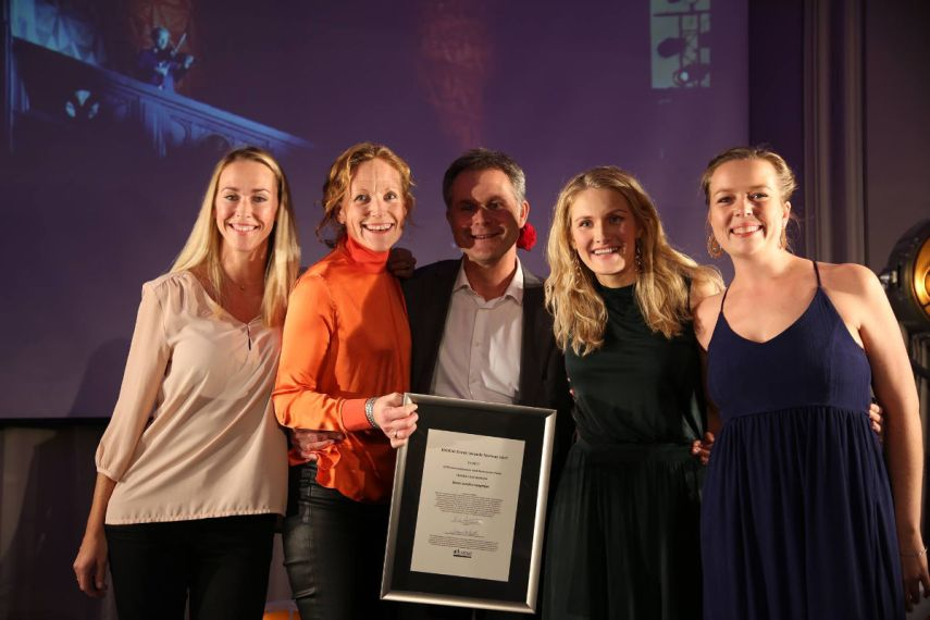 KITE kommunikasjon vant Beste samfunnsnyttige-kategorien. Fotograf: Camilla Bergan.