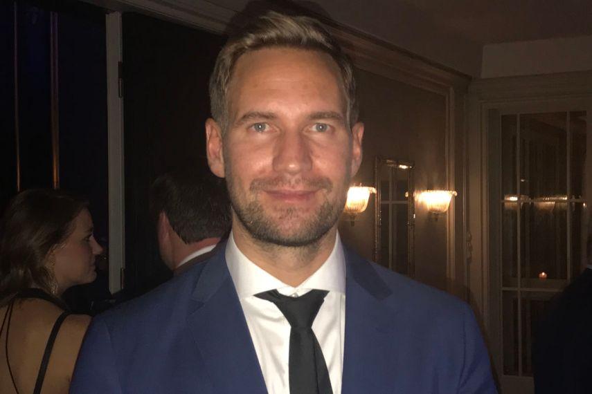 Gjermund Hellan, byråleder i JPC, kunne innkassere en pen stabel diplomer under HSMAI Eventprisene mandag 9. oktober 2017 – foruten prisen som Beste eventbyrå. Fotograf: Jarle Petterson.