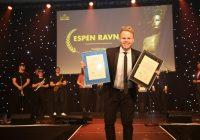 Comfort Hotel Trondheims hotelldirektør, Espen Ravnå, er Årets Unge Hotelier