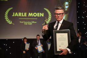 THE THIEFs hotelldirektør Jarle Moen ble kåret til Årets Hotelier 2017 under HSMAI-prisene onsdag 10. januar. Fotograf: Camilla Bergan.