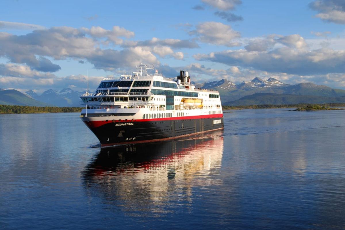 Hurtigruten lanserer tre nye hybridskip