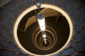 Art deco-trappen i Oslo Lysverker. Fotograf: Roberto di Trani.