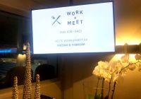 Vellykket Work@Meet-samling i dag