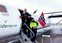 Widerøe fyller 85 med overraskelse til 85 passasjerer