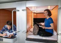 Stena Line installerer japanske sovekapsler