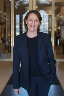 Trude Strøm Solberg, ved Grand Hotel by Scandic i Oslo. Fotograf: Hege Finsrud, Bærum Foto.