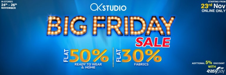 Alkaram Big Friday Sale