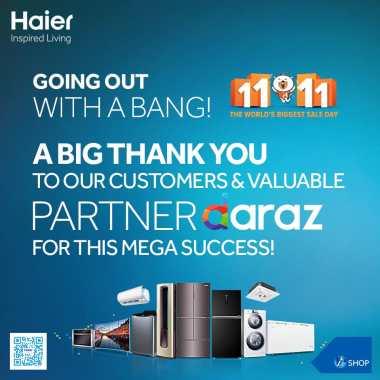 Haier's groundbreaking 11.11 deals were a big hit!
