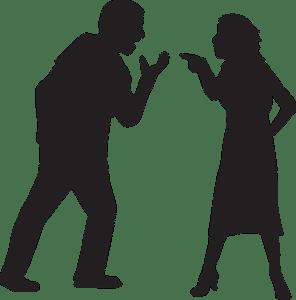 """8 grote verschillen tussen """"normale"""" en narcistische relatieproblemen."""