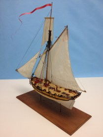 Paper Model of HMS Alert by Clare Hess