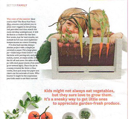 Root-Vue in Better Homes & Garden