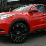 Mobil Honda Hrv Tampil Offroad Pakai Velg Hsr Jt01 R20 Ciputat Solitaire