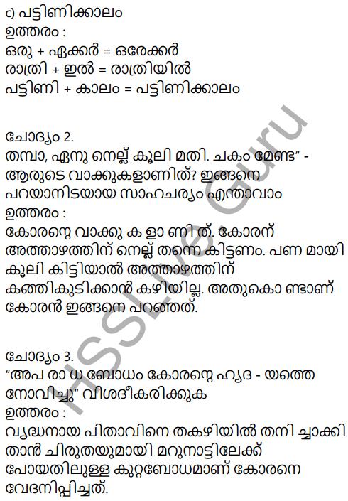 Adisthana Padavali Malayalam Standard 10 Solutions Unit 1 Chapter 1 Plavilakkanni 24