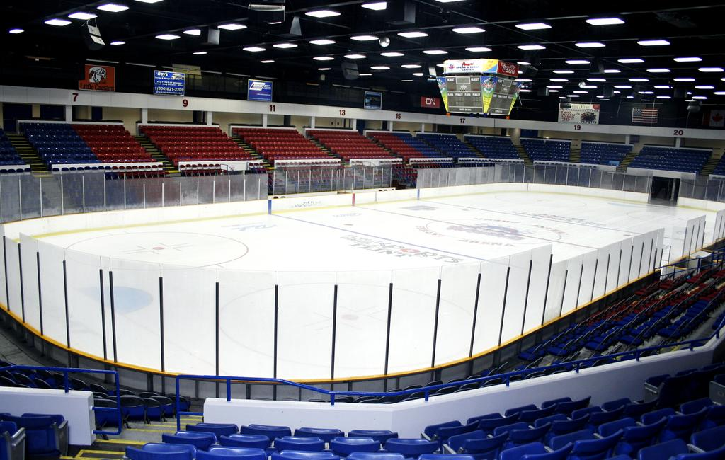 Grand Blanc Boys Ice Hockey Team Will Use Flints Perani Arena For Home Games This Season