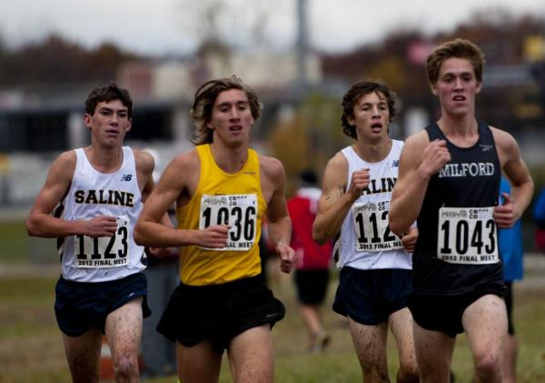 Saline and Pioneer bring home top-10 finishes at boys ...
