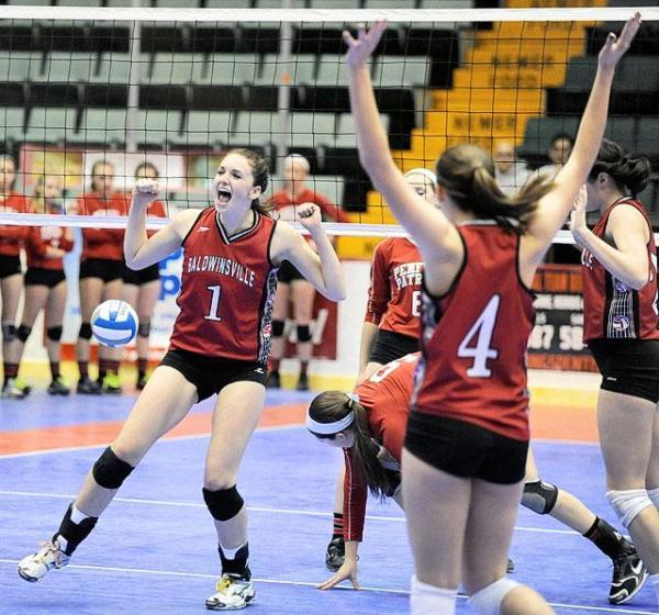 Baldwinsville girls volleyball team moves into Sunday ...