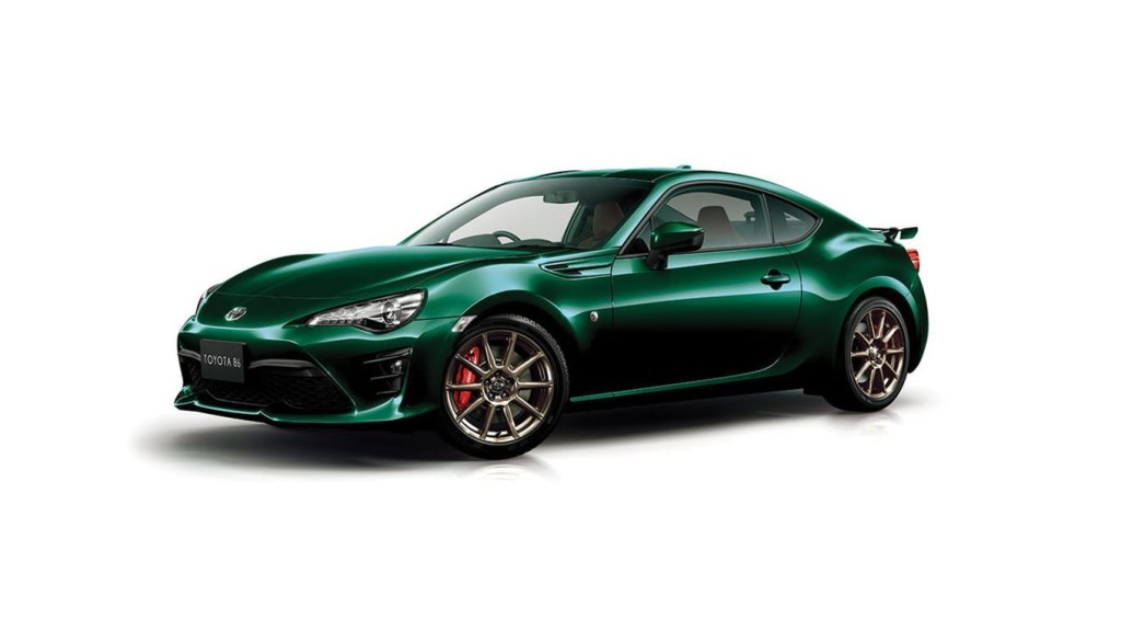 Toyota 86 British Green Limited Edition 2019