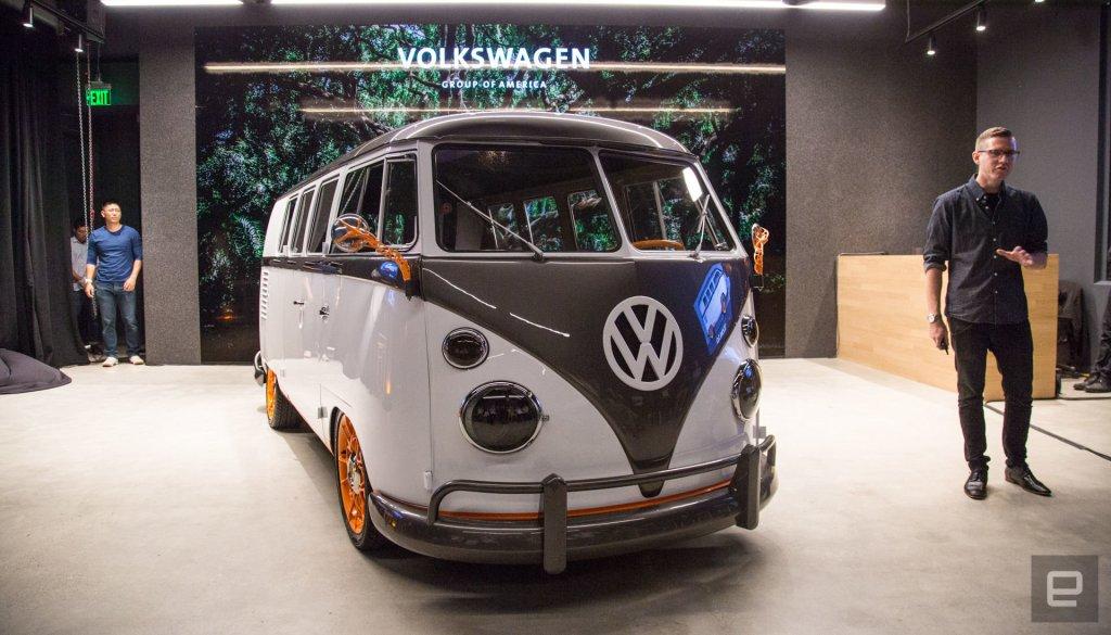Volkswagen Type 20 EV Microbus Concept