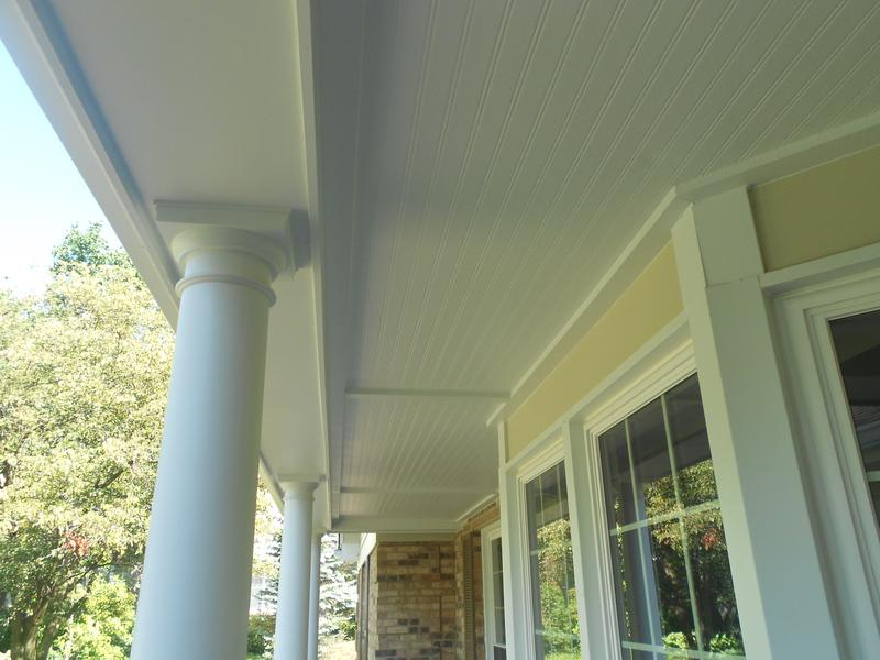Outdoor House Columns