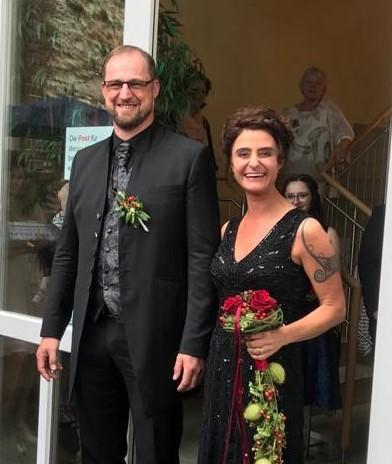 Hochzeit unseres Trainers Carsten Klöpping