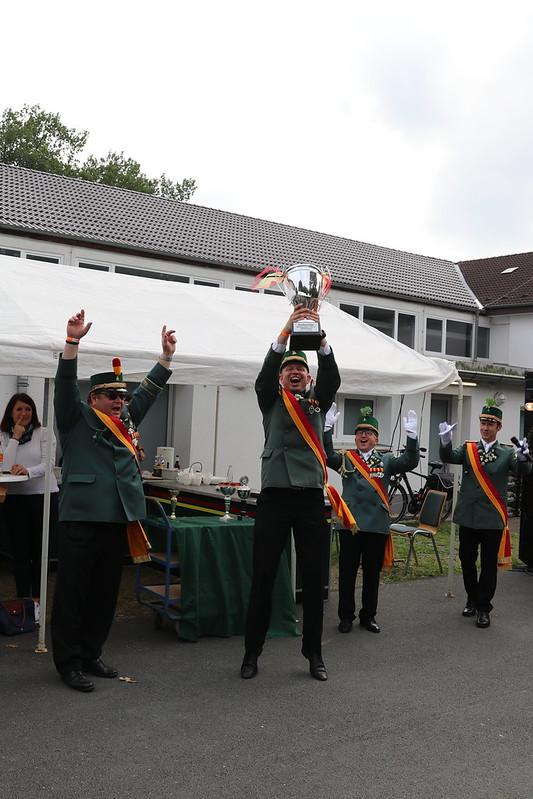 Dorfkompanie gewinnt Bataillonsvergleich
