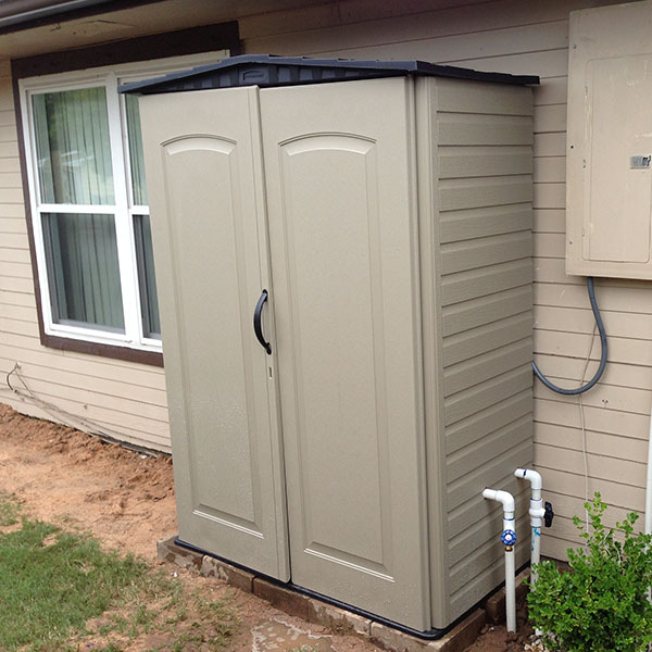 water softener outside cabinet   www.resnooze.com on Outdoor Water Softener Enclosure  id=56455