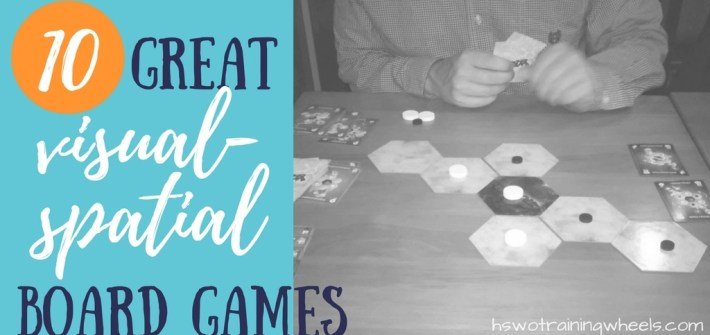 Visual-spatial games have been around since the beginning of board gaming. Here are some modern games that exercise visual-spatial mental muscles!