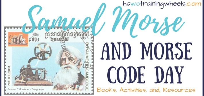Samuel Morse invented the telegraph and helped to develop Morse Code. Here are some great ways to celebrate Morse Code Day!
