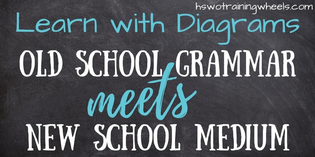 Learn With Diagrams Old School Grammar Meets New School Medium