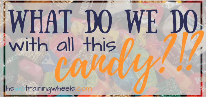 Do you have a lot of extra candy? Check out this big list ways to use the candy in your homeschool for educational activities!