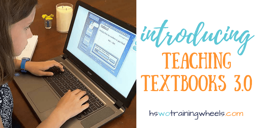 Are you looking for an independent math program your student can do online? Do you need something that will work on a Chromebook, for a struggling reader or one who is dyslexic? Check out the Teaching Textbooks 3.0 curriculum!