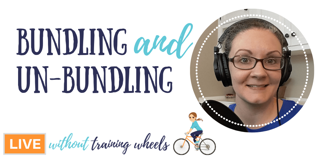 How do you know when to combine skill training to save time, and when to separate them out to determine mastery? Tackle bundling and un-bundling like a pro!
